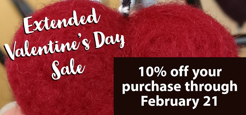 Extended Valentine's Day Sale