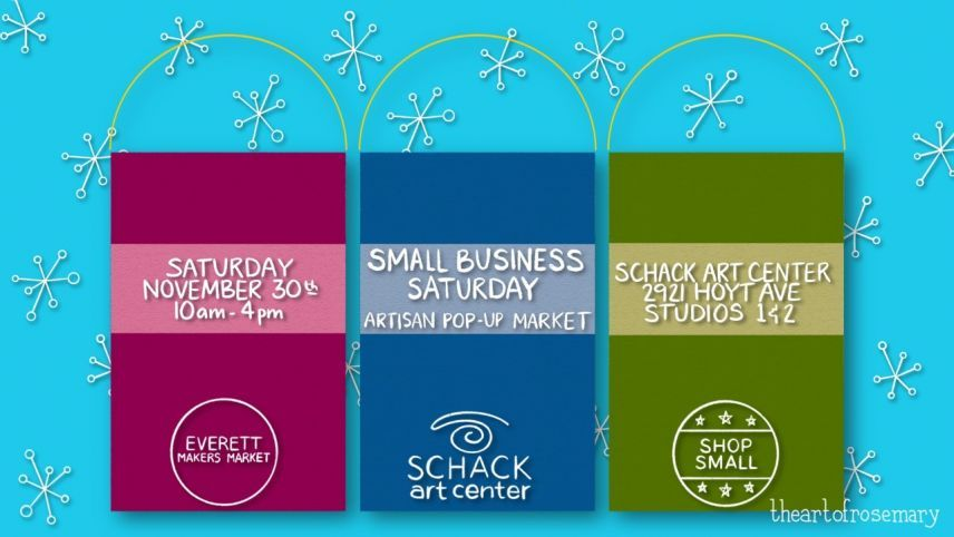 Small Business Saturday Artisan Pop-Up Market